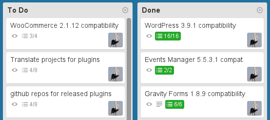 Keeping track of plugin compatibility with Trello
